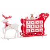 The Seasonal Aisle Reindeer and Sleigh Calendar