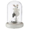 The Seasonal Aisle Glass Bell Reindeer