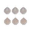 The Seasonal Aisle 6 Piece Ornament Glass Ornament Set (Set of 2)