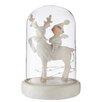 The Seasonal Aisle Glass Bell Reindeer