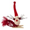The Seasonal Aisle Nordic Reindeer Clip On Ornament (Set of 6)