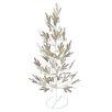 The Seasonal Aisle Tisch-Weihnachtsbaum Pine Effect Metal
