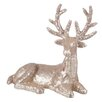 The Seasonal Aisle Reindeer Lying Down Sequins