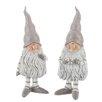 The Seasonal Aisle 2-tlg. Figuren-Set Santa Claus