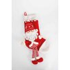 The Seasonal Aisle Santa Stocking with Long Legs (Set of 2)