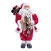 The Seasonal Aisle Figur Trad Standing Santa