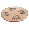 The Seasonal Aisle Jute Tree Skirt with Printing