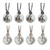 The Seasonal Aisle 8 Piece Glass Ball Ornament Set