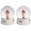 The Seasonal Aisle 2 Piece Snow Globe Mushroom Set