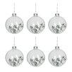The Seasonal Aisle 6 Piece Round Ball Ornament Set (Set of 6)