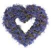 The Seasonal Aisle 30cm; Lavender Wreath