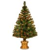 The Seasonal Aisle 4' Green Artificial Christmas Tree with Stand