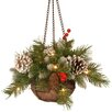 The Seasonal Aisle Frosted Berry Hanging Basket