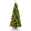 The Seasonal Aisle Cleveland 7.5' Green Fir Artificial Christmas Tree with Stand