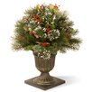 The Seasonal Aisle Wintry Pine Cone Porch Bush
