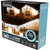 The Seasonal Aisle LED Snowing 360 Light Icicle Light