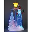 The Seasonal Aisle Battery Operated LED Acrylic Water Santa
