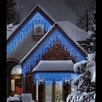 The Seasonal Aisle LEDs Multi-Function 120 Light Icicle Light