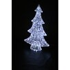 The Seasonal Aisle Acrylic Xmas Tree with LED 144 Light Lamp