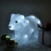The Seasonal Aisle Crystal Effect Polar Bear 24 Light Lamp