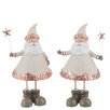 The Seasonal Aisle 2 Piece Santa Claus Figurine Set
