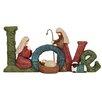The Seasonal Aisle Aufsteller Nativity Love