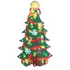 The Seasonal Aisle Xmas Tree Metallic Silhouette