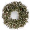 The Seasonal Aisle 60.96cm; PVC Glittered Branch and Pine Wreath