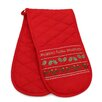 The Seasonal Aisle Christmas Time Double Oven Glove
