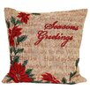 The Seasonal Aisle Seasons Greetings Cushion Cover