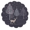 The Seasonal Aisle Winter Woods Placemat