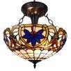 Amora Lighting 2 Light Bowl Pendant