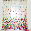 Rioma Papillon Tabs Single Curtain Panel