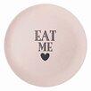 Miss Etoile 25cm Eat Me Bamboo Melamine Plate (Set of 6)