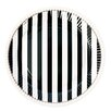 Miss Etoile 23cm Stripe Round Paper Plate (Set of 16)