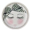 Miss Etoile 23cm Eyes and Dots Round Paper Plate (Set of 16)
