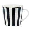 Miss Etoile Stripe Ceramic Coffee Mug