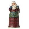 Heartwood Creek Rejoice & Be Glad Victorian Santa Figurine