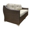 World Wide Wicker Tampa Luxury 4 Piece Deep Seating Group with Cushion