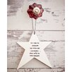 Ladeda! Living We will be Friends Until we're Old and Senile, then we'll be new Friends Star Wall Decor