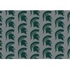 My Team by Milliken College Repeating NCAA Michigan State Novelty Rug