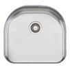 "Oliveri Sydney 19"" x 21"" Single Bowl Kitchen Sink"
