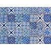 Crearreda Bella Casa Azulejos Wall Sticker