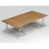 Reunion 9' Rectangular Conference Table (Set of 4)