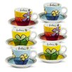 Egan Pane Amore E Fantasia 12 Piece Coffee Cup Set