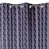 Madura Mayflower Curtain Single Panel