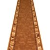 Carpet Runners UK Corrido Tan Brown Area Rug