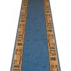 Carpet Runners UK Jena Blue Area Rug