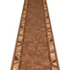 Carpet Runners UK Corrido Dark Brown Area Rug