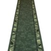 Carpet Runners UK Corrido Green Area Rug